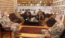 وزيرة الدفاع عرضت مع رئيس الطبابة بالمستشفى العسكري للعمل بقسم كورونا