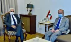 حتي بحث مع سفير إسبانيا مسألة التجديد لليونيفل والتقى ابراهيم