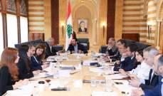 الحريري ترأس في بيت الوسط اجتماعا للجنة متابعة تنفيذ خطة الكهرباء