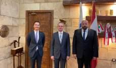 سفير تركيا زار نهرا: جاهزون لأي مساعدة أو مشروع يهم سكان طرابلس والشمال