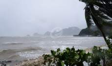 استئناف حركة الطيران إلى جنوب تايلاند بعد هدوء العاصفة الاستوائية