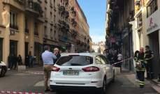 13 جريحا إثر تفجير إرهابي في ليون الفرنسية والنيابة العامة تفتح تحقيقا
