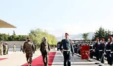 رئيس أركان الجيوش الفرنسية: الجيش اللبناني نفذ مهمات غير مسبوقة ودعمنا له سيستمر