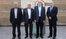 جعجع: مستعدون للمساعدة في أي شيء من شأنه أن يدعم قطاع الصناعة في لبنان