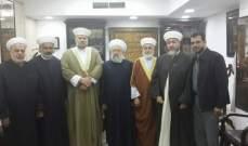 مجلس علماء فلسطين في لبنان يطالب بإعطاء حق العمل والتملك للفلسطينيين