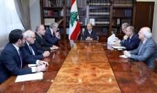الرئيس عون التقى رئيسي الجامعة الأميركية وجامعة القديس يوسف