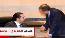 4 ملفات فجّرت خلاف الحريري - باسيل