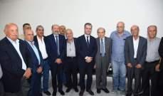أنور الخليل زار مركز جمعية