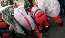 النشرة: جريحان في حادث سير مروع على الكورنيش البحري لمدينة صيدا