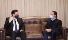 الحريري التقى دياب وبحث معه التطورات