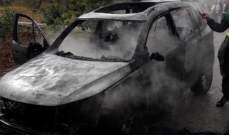 الدفاع المدني: إخماد حريق داخل سيارة في بريقع- النبطية
