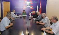 وزيرة العمل أكدت حرصها على دعم العمال في مطالبهم ومخاوفهم مع تزايد نسبة البطالة