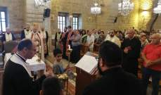 قداس احتفالي في دير القمر في مناسبة عيد مار الياس