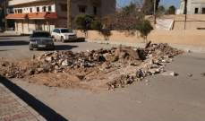 حالة الطرقات في بعض المناطق اللبنانية قبل ظهر اليوم