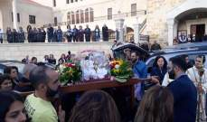 كنيسة سيدة النبع في جزين استقبلت ذخائر القديسَين يوحنا بولس الثاني وفوستين