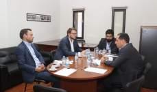 نائب ألماني زار الجميل: سنساعد اللبنانيين ماديا وبالسياسة ونأمل اعادة اعمار ما تهدم