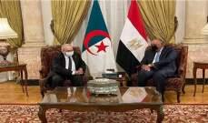 وزير الخارجية المصري: فتح الطريق الساحلي في ليبيا مؤشر جيد للحوار هناك