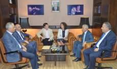 رئيس ديوان المحاسبة التقى وفد مؤسسة سيجما وتأكيد على تبادل الخبرات