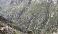وفاة شاب نتيجة سقوطه في وادي قنوبين