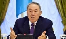 إصابة رئيس كازاخستان السابق نور سلطان نزارباييف بفيروس كورونا