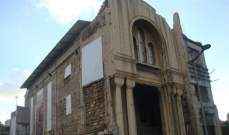 اطلاق ورشة ترميم كنيسة مار منصور المهدمة في وسط بيروت