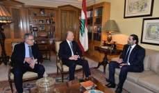 الشرق الاوسط:ارتياح الحريري لمحادثاته بالرياض اقترن بارتياحه لطي صفحة الماضي مع ريفي