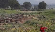 النشرة: ورشة إسرائيلية عملت على تأهيل وصيانة الطريق العسكري المحاذي للسياج التقني