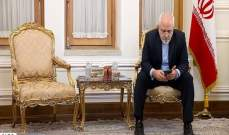 ظريف يشكر تركيا لرفضها إدراج أميركا للحرس الثوري على قائمة الارهاب