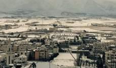 امطار غزيرة ورياح شديدة والثلوج على ارتفاع 1000 متر غدا