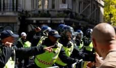 اشتباكات بين الشرطة ومتظاهرين يمينيين وسط لندن