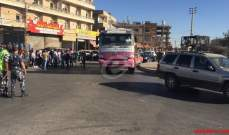 إزالة العوائق عن الطرق العامة في بعلبك واعادة فتح طريق عام حلبا