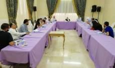 الحريري ترأست اجتماعا لخلية أزمة الإنفجار: لتحقيق دولي بالحادث