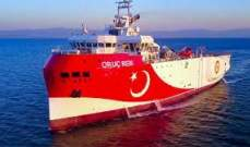 سكاي نيوز: سفينة تركية تطلق النار على دورية قبرصية لخفر السواحل