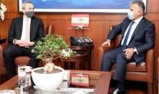اللواء ابراهيم التقى السفير البريطاني مودعا ومديرة التأشيرات السودانية