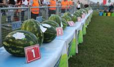 أضنة التركية تحتضن مهرجان البطيخ الأحمر