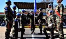 تسليم وتسلم بين الكتيبتين الهنديتين في القطاع الشرقي