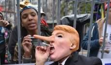 مظاهرات حاشدة في ألمانيا للمطالبة بتقنين تدخين الماريغوانا