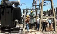 الطاقة السورية: إعادة محطة تحويل الشريعة بريف حماة للخدمة