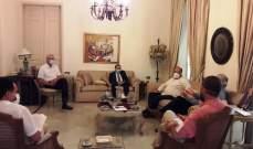 اجتماع صحي لبناني- فلسطيني في منزل البزري بحث بإجراءات عدة مرتبطة بمواجهة كورونا