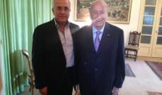 سليمان: للالتقاء حول هدف واحد عنوانه حماية لبنان وأرضه وصيغته