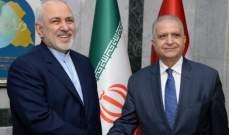 ظريف ناقش مع الحكيم آخر التطورات: لاحترام استقلال العراق وسيادة أراضيه