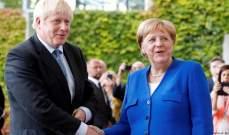 جونسون وميركل: احتجاز السفير البريطاني في إيران إنتهاك للقانون الدولي