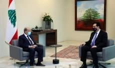الرئيس عون يلتقي دياب قبيل اجتماع المجلس الأعلى للدفاع