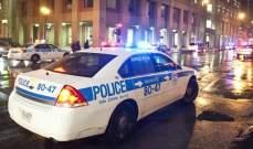 مقتل شخص وإصابة 4 في إطلاق نار بمقاطعة أونتاريو بكندا