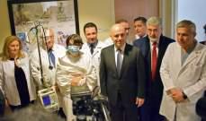 المركز الطبي في الجامعة الأميركية في بيروت يجري اول عملية زرع للرئة في لبنان