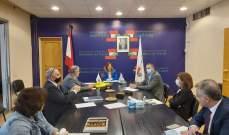 يمين ترأست اجتماعاً للجنة تحديث وتعديل قانون العمل اللبناني