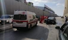 النشرة: سقوط جريح نتيجة حادث سير داخل نفق المطار