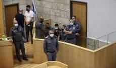محكمة إسرائيلية مددت اعتقال 4 من أسرى جلبوع الذين فروا من السجن وأُعيد اعتقالهم