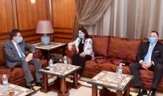 كنعان التقى دشتي وتأكيد على دور مجلس النواب المحوري لإنقاذ لبنان ماليا واقتصاديا