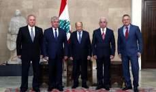 الرئيس عون: نتطلع الى إيجاد حل سريع يحقق عودة النازحين السوريين الى بلادهم